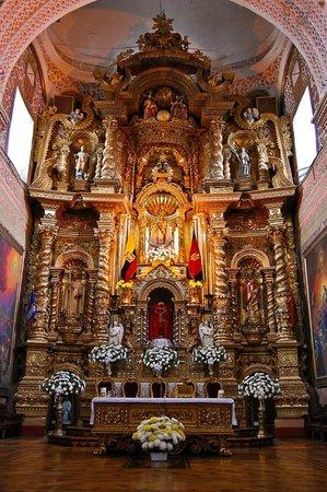 La Merced Church (Iglesia de la Merced): Basilica de La Merced (interior)