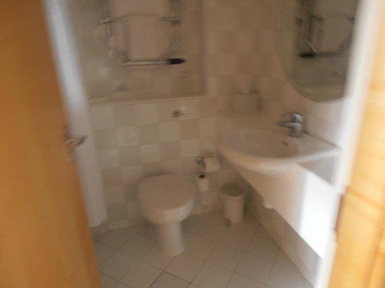 Holiday Inn Gloucester - Cheltenham: Toiles and sink