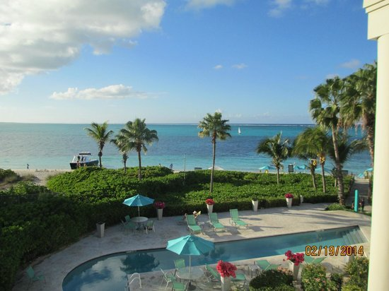 Coral Gardens on Grace Bay : View from condo 4302 balcony
