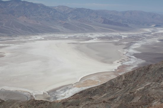 Dante's View: Вид на долину