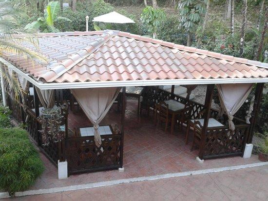 Hotel Samara Pacific Lodge: coin restauration