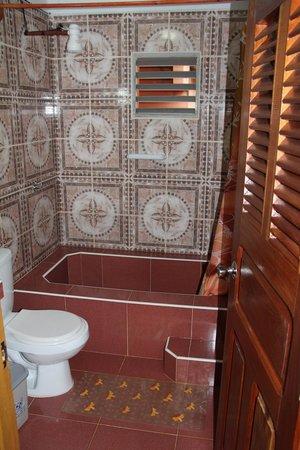 Villa El Habano: salle de bain