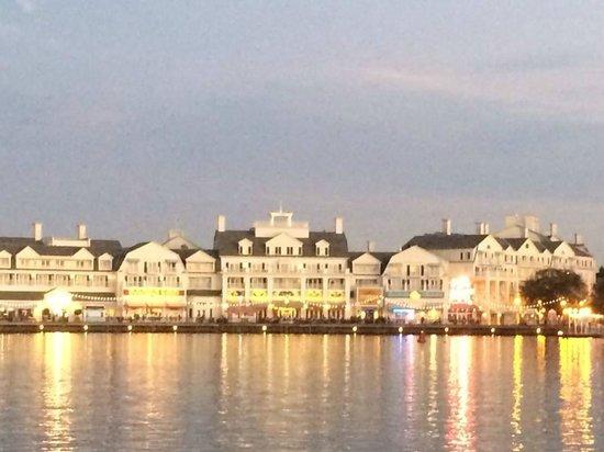 Disney's BoardWalk Villas: View from across the lake