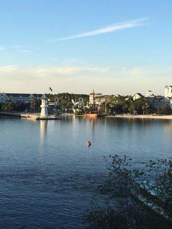 Disney's BoardWalk Villas: View from our 5th floor room
