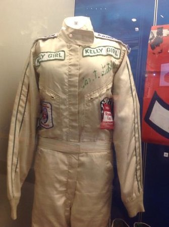 NASCAR Hall of Fame : Janet Guthrie driver suit