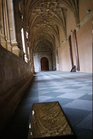 St. Stephen's Convent (Convento de San Esteban): los espejos ayudan a apreciar mejor los detalles de la bóveda