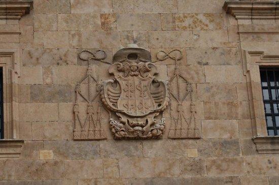 St. Stephen's Convent (Convento de San Esteban): detalle fachada