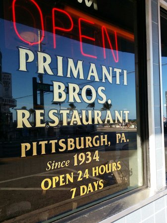Primanti Brothers Restaurant: Loved it and perfect stop before or after hitting the beach