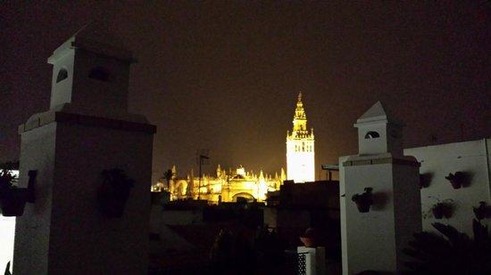 Hotel Murillo: Panorama dalla terrazza dell'hotel