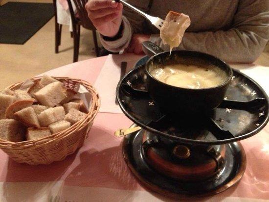 Restaurant Fritschi: Fondue de queso