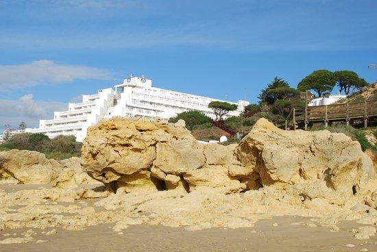 Muthu Clube Praia da Oura: View from the Beach
