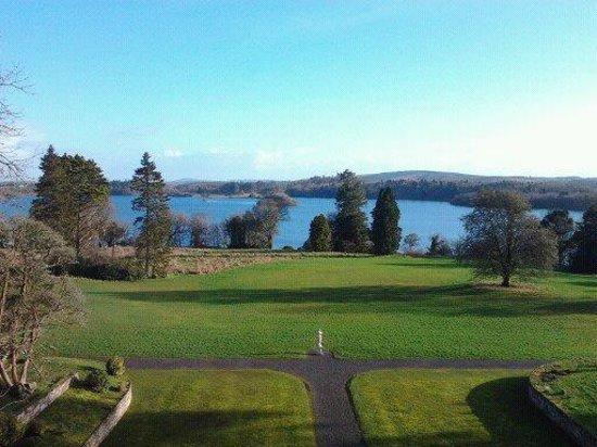 Kilronan Castle Estate & Spa: View from Suite 402