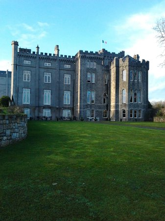 Kilronan Castle Estate & Spa: Suite 402, second row from top fourth window over