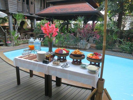 Amata Lanna : Fresh fruit breakfast