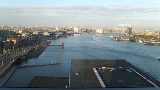 Movenpick Hotel Amsterdam City Center: view from room floor 17