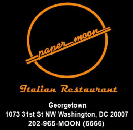 paper moon dc View contact info, business hours, full address for paper-moon in washington, dc whitepages is the most trusted online directory.