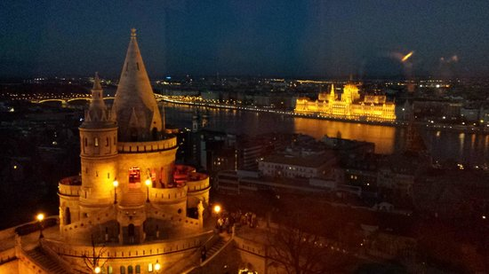 Hilton Budapest: View from our room :)