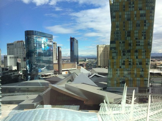 ARIA Resort & Casino: View from 19th Floor