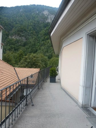Hotel Royal St. Georges Interlaken - MGallery Collection: Room balcony shared with 1 other room