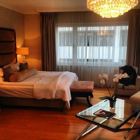 Hotel Continental Oslo: Rom med utsikt