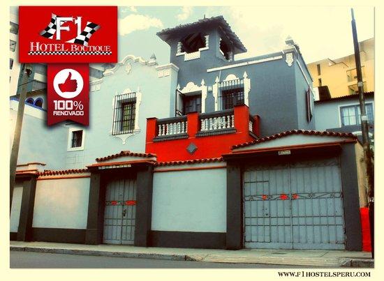 F1 HOTEL BOUTIQUE - MIRAFLORES - LIMA - PERU