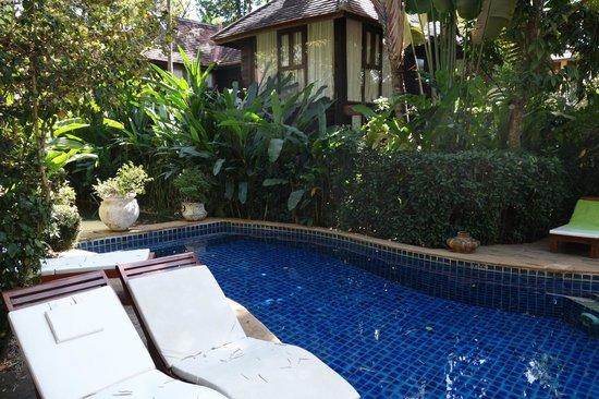 Ban Sabai Spa Village Boutique Resort & Spa: Zen-like pool area