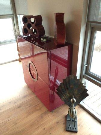 Hotel Glymur : kitchen cabinet