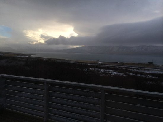 Hotel Glymur : view from deck