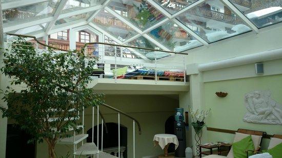 Hotel Eden Wellness: the relaxing area