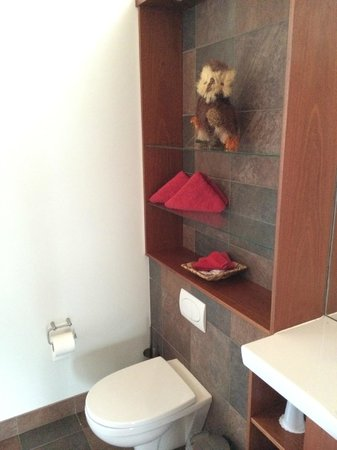 Hotel Glymur: bathroom