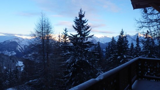 Chalet Marmotte: Lovely to wake up to