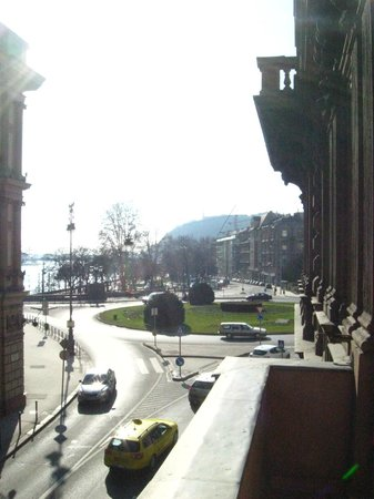 Budapest Best Apartments: View from the Balcony