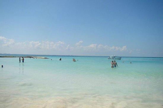 Playa Norte: El mar ... no se puede creer !!!