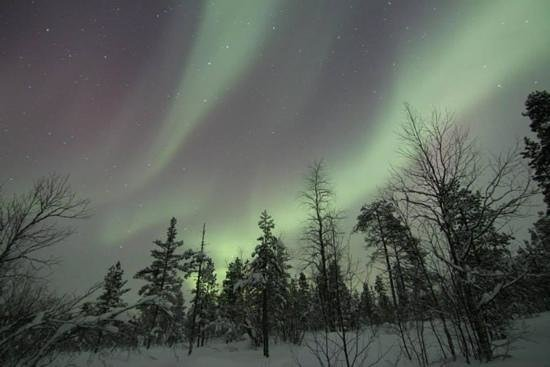 Rajamaa: Aurore boreale