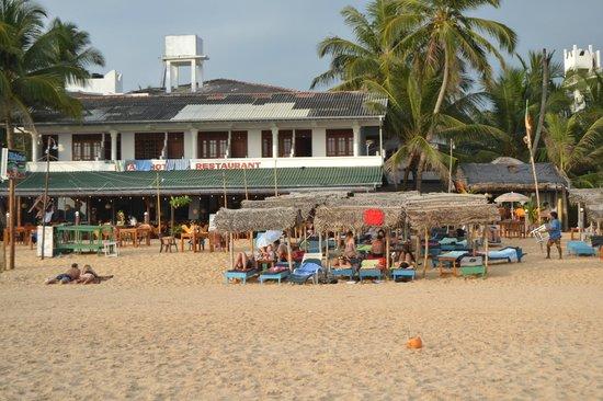 Ritas Hotel : Береговая линия.