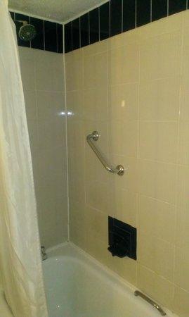 Copthorne Hotel Birmingham: Dark shower area
