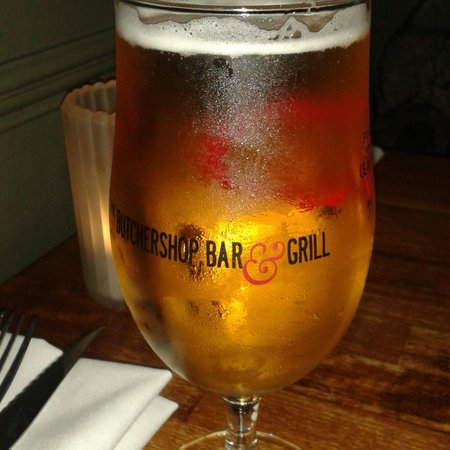 The Butchershop Bar and Grill : Beer !!