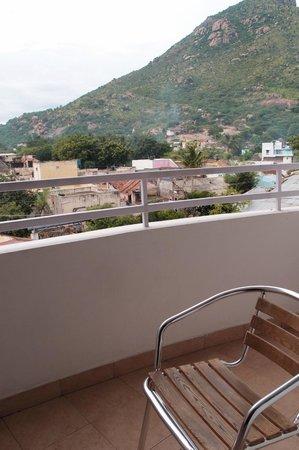 Arpanaa: vue du balcon