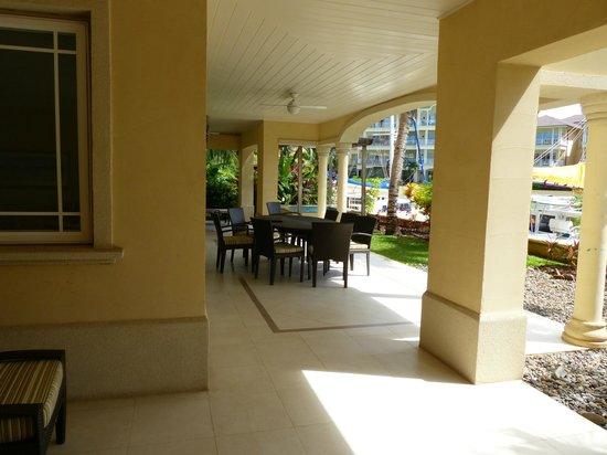 The Landings Resort & Spa St. Lucia : Verandah