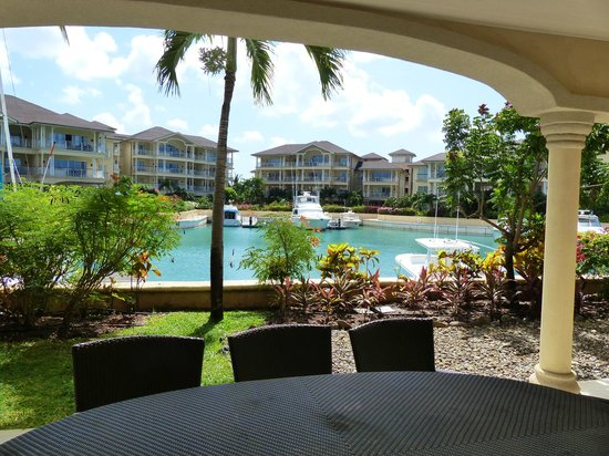 The Landings St. Lucia: Marina view