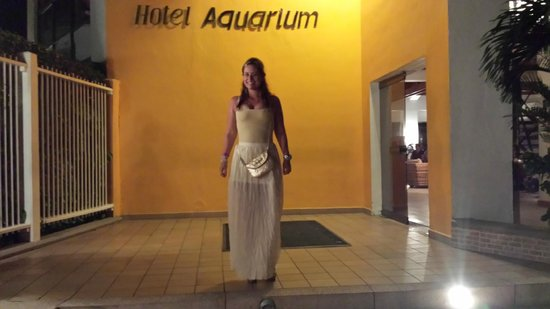 Decameron Aquarium: Entrada