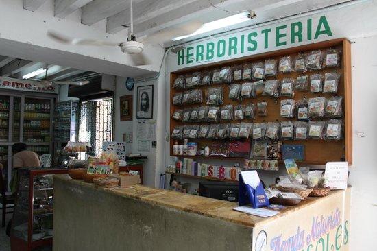 Restaurante Vegetariano Girasoles: También tenemos una herboristerìa !