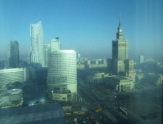 Warsaw Marriott Hotel: View from bedroom