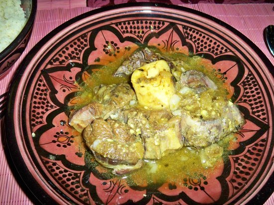 Riad Aya : Pollo al limon