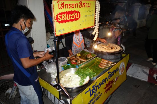 Patpong Night Market: Food available
