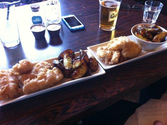 Icelandic Fish & Chips: Posh fish 'n' chips