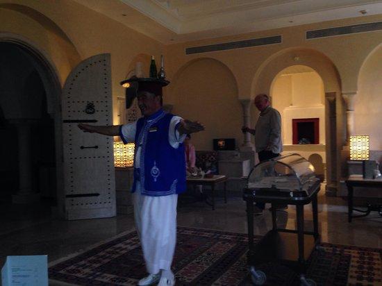 Hasdrubal Thalassa & Spa Djerba: Ammar café maure