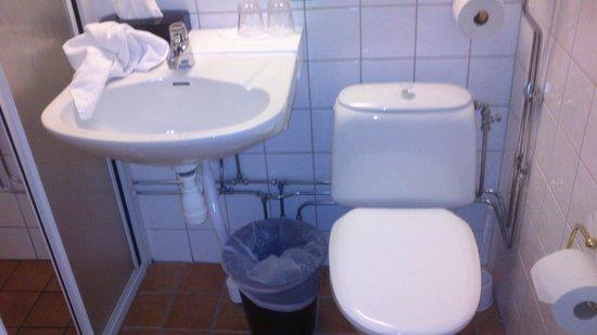 Best Western Kom Hotel Stockholm: Bagno