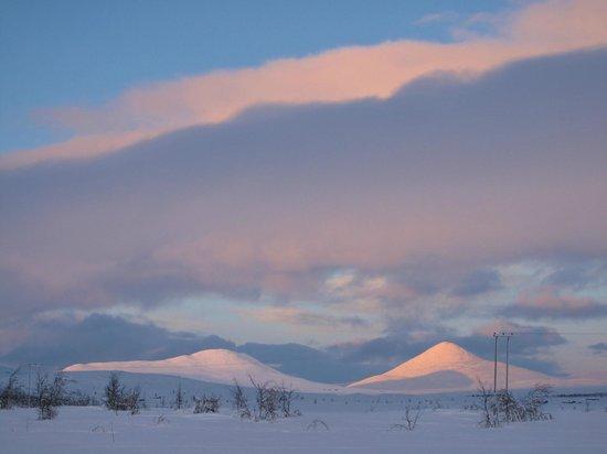 Venabu Fjellhotell og Hytter: view from hut