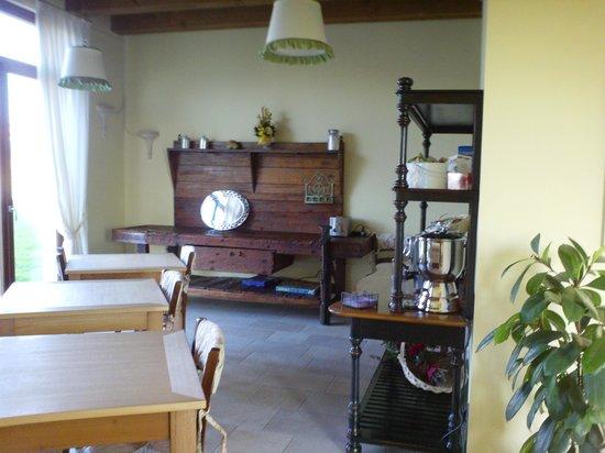 Otto Ducati d'Oro: sala colazione